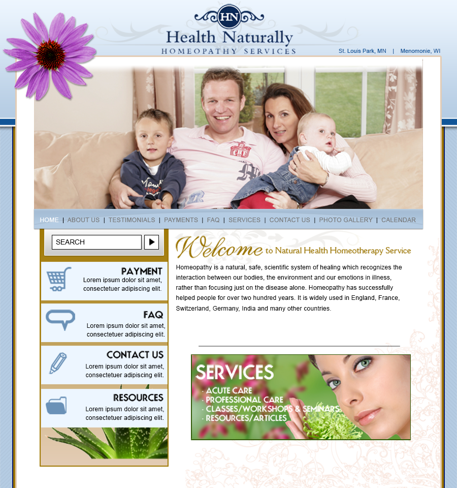 Health Naturally Homeopathy Services