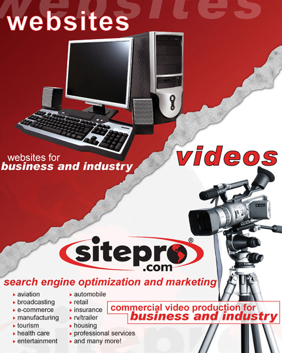 Sitepro Websites and Video
