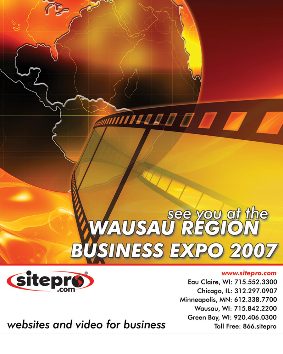Sitepro Wausau Expo Poster